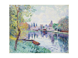 Moret-Sur-Loing Giclee Print by Armand Guillaumin