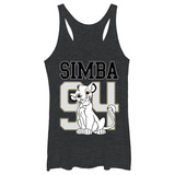Juniors Tank Top: Disney: The Lion King- Simba 94 Camiseta sin mangas