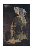 A Scene in the Colosseum, Rome Giclee Print by Thomas Jones