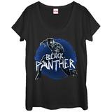 Womans: Captain America Civil War- The Black Panther Dolman T-shirts