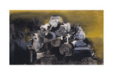 Devastation, 1941: East End, Burnt Paper Warehouse Giclee Print by Graham Sutherland