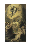 Sketch for 'The Ascension' Giclee Print by Benjamin West