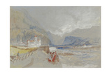 Marketsch Castle and Tower of Botzen Giclee Print by Joseph Mallord William Turner