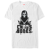 Captain America Civil War: Cross Bones- Black Mark T-Shirt