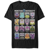 Pixar: Monsters University- Class Roster T-shirts