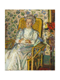 The Artist's Mother Giclee Print by Harold Gilman