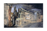 Somerset Place, Bath Giclee Print by John Piper