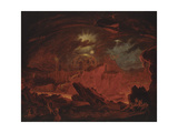 The Fallen Angels Entering Pandemonium, from 'Paradise Lost', Book 1 Giclee Print by John Martin