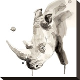 Rinoceronte Stampa su tela di Philippe Debongnie