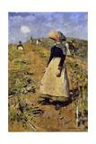 Berwickshire Field-Workers Giclee Print by Edward Arthur Walton