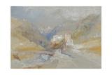 Runkelstein Castle, Near Botzen Giclee Print by Joseph Mallord William Turner