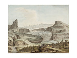The Glacier of Simmenthal Giclee Print by Samuel Hieronymous Grimm