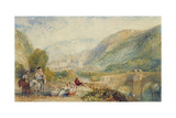 The Gallery of Modern British Artists 1834-1836 Watercolours, Rievaulx Abbey Giclee Print by Joseph Mallord William Turner