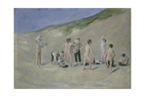 After Bathing Giclee Print by Max Liebermann
