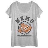 Womens: Finding Dory- Nemo Varsity Dolman Tshirt
