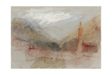 Bozen and the Dolomites Giclee Print by Joseph Mallord William Turner