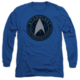 Long Sleeve: Star Trek Beyond- Starfleet Patch T-shirts