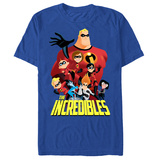 The Incredibles- Full Cast Ensemble T-shirts