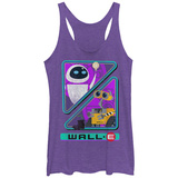 Juniors Tank Top: Pixar: Wall-E- Noble Robots Tanktop til damer