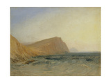 Rocky Coast Giclee Print by Joseph Mallord William Turner