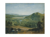 The Plym Estuary from Boringdon Park Giclee Print by Joseph Mallord William Turner