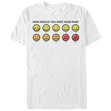 Big Hero 6- Rate Your Pain T-shirts