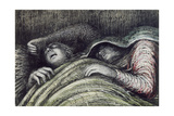 Pink and Green Sleepers Giclee Print by Henry Moore