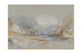 Castle at Botzen Giclee Print by Joseph Mallord William Turner