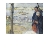 Brittany: 1914 Giclee Print by Edward Reginald Frampton
