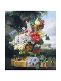 Flower-Piece Giclee Print by John Wainwright