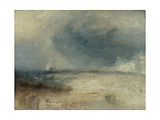 Waves Breaking on a Shore Giclee Print by Joseph Mallord William Turner