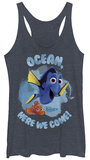 Juniors Tank Top: Finding Dory- Here We Come Tank Top