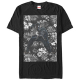 Black Panther- Floral Attack T-shirts