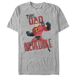 The Incredibles- Incredible Dad Shirts