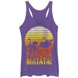 Juniors Tank Top: Disney: The Lion King- Sunny Hakuna Matata Tanktop