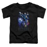 Toddler: Star Trek Beyond- Stellar Cast T-shirts