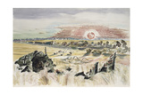Bomber in the Corn Giclee Print by Paul Nash
