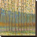 Through Pastel Trees Impressão em tela esticada por Libby Smart