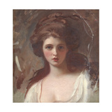 Emma Hart as Circe Giclee Print by George Romney
