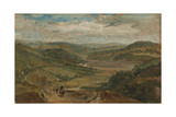 The Plym Estuary Looking North Giclee Print by Joseph Mallord William Turner