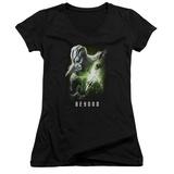 Juniors: Star Trek Beyond- Jaylah Poster V-Neck T-Shirt
