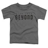 Toddler: Star Trek Beyond- Block Print Logo T-Shirt