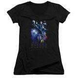 Juniors: Star Trek Beyond- Stellar Cast V-Neck T-Shirt