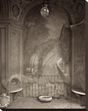 Banc de Jardin 34 Stretched Canvas Print by Alan Blaustein