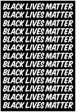 Black Lives Matter Strong Message Echoed Prints