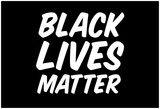 Black Lives Matter Bold Statement Print