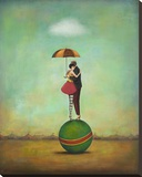 Circus Romance Stretched Canvas Print by Duy Huynh