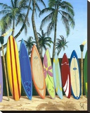 Bunch of Boards Stretched Canvas Print by Scott Westmoreland