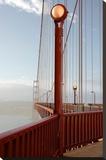 Golden Gate Bridge 44 Stretched Canvas Print by Alan Blaustein