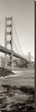 Golden Gate Bridge Pano 2 Stretched Canvas Print by Alan Blaustein